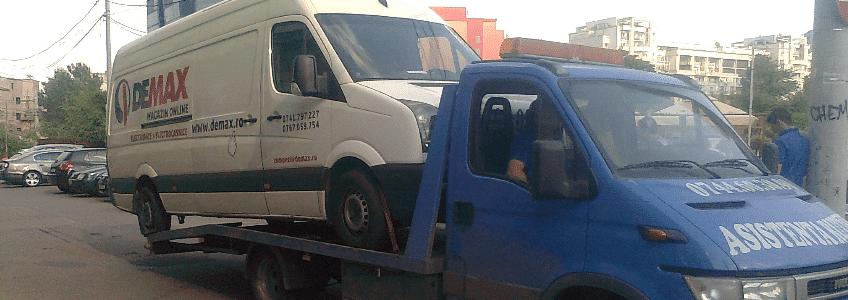 Tractari auto in Bucuresti non stop