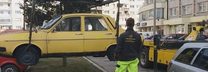 In Bucuresti se vor ridica masinile abandonate